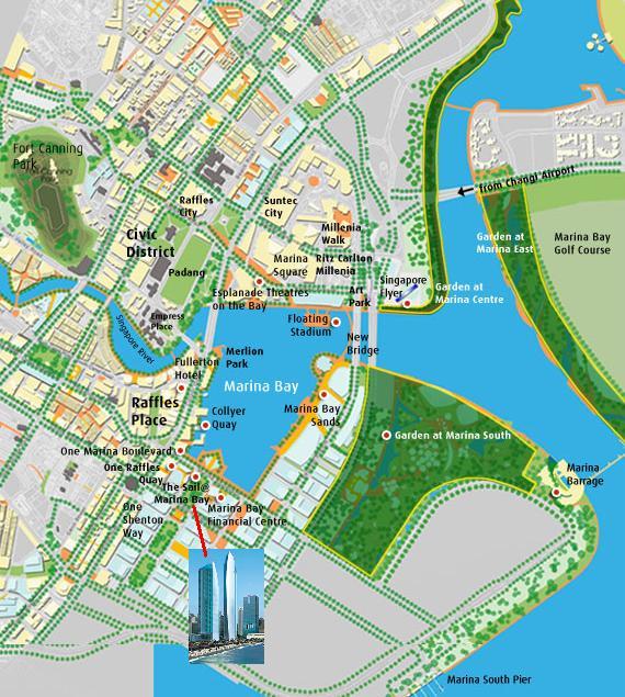Location The Sail At Marina Bay